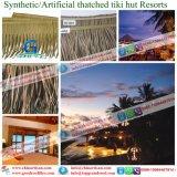 Tiki小屋のTiki棒艶出しリゾートのための総合的なやし屋根ふき材料の人工的な屋根ふき材料