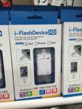 Dispositif externe OTG USB Micro SD et lecteur de carte SD Support pour iPhone et Andorid Phone (OM-P905)