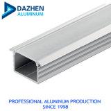 Алюминий материал шкаф овальной трубы / алюминиевый профиль профиль