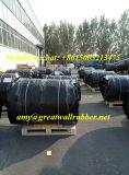 Estera de goma reforzada fibra industrial de la resistencia de abrasión para el trazador de líneas de la explotación minera