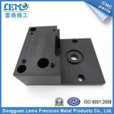 Il nero dei pezzi meccanici di CNC del metallo di precisione anodizzato