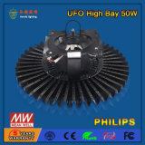 свет залива наивысшей мощности СИД 110-130lm/W 50W высокий для пакгауза