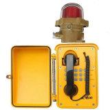 Непредвиденный телефон Knsp-08 делает систему внутренней связи водостотьким IP с загоранной кнопочной панелью