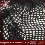 100% poliéster tecido de malha grande de ar para o motociclo tampa do assento