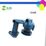 Bloco de motor usado do ferro de molde do motor S1105 Diesel de trator agricultural
