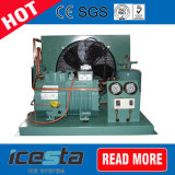 Bitzerの版のタイプ蒸化器のコンデンサーのひれのタイプ空気によって冷却されるコンデンサー