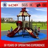 HD16-068Aのプラスチックの子供の屋外の運動場装置のスライド