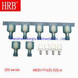 AWG # 16-14 Terminales de cableado de prensado en frío con retención de hoyuelos