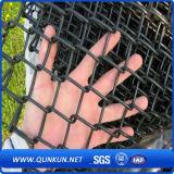 Ограждать ячеистой сети загородки звена цепи