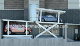 Estacionamento subterrâneo deck duplo carro elevador para espaço limitado