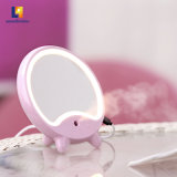 Kundenspezifische Form-kosmetischer runder Verfassungs-Tischplattenspiegel