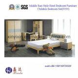 فيتنام الأثاث الخشبي أثاث غرفة نوم مع خزانة (B706A #)