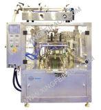 Relleno del bolso y máquina del lacre para el líquido
