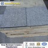 Painéis compostos de borracha cerâmica como forro de desgaste