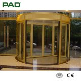 De elegante Gouden Draaiende Deur van de Kleur voor Hotel of het Winkelen Zaal