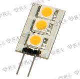 Lámpara LED SMD de 3PC G4 de 0,6 W (LF).