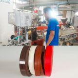 Nastro bianco del regolatore della fascia di bordo del PVC del Rolls della fascia di bordo del PVC per PVC lucido della fascia del pannello truciolare l'alto