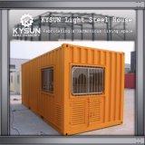 Casa pré-fabricada galvanizada do recipiente do Prefab modular do frame de aço