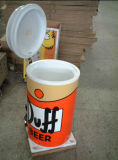 Dispositivo di raffreddamento rotondo della bevanda del barilotto del partito promozionale con le rotelle (BC-75D)
