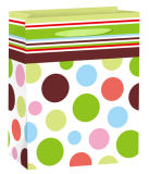 Los rayos UV Barniz Spot el papel de embalaje de regalo Bolsa de compras