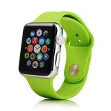 Cinta quente da faixa de relógio da borracha de silicone da alta qualidade para a faixa de relógio de Apple