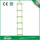 子供6のための丈夫な屋内屋外のPE 6のステップロープの上昇の梯子'長く