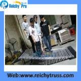 Stadiums-Binder Relais-290mm, Aluminiumzapfen-Binder, quadratische Beleuchtung-Binder-Treppe