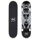 "Skateboard Double Kick Queue fait plein d'érable canadien Noir 31,75*7,875 "" S002-2"
