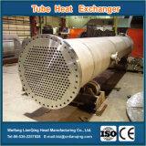 Échangeur de chaleur d'interpréteur de commandes interactif et de tube pour l'industrie chimique