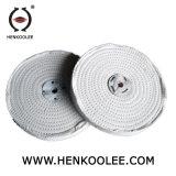 Eisen Roundtube Kreise, die lederfarbenes Baumwollrad abmontieren