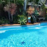 Cascade à écriture ligne par ligne de STATION THERMALE de piscine de syndicat de prix ferme de STATION THERMALE d'acier inoxydable de Fenlin