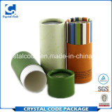 カラーおよびデザイン装飾的なペーパー管ボックスの幅広い選択