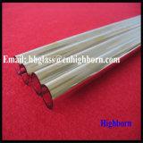 Doppio tubo del quarzo del silicone fuso di doratura elettrolitica del foro del fornitore