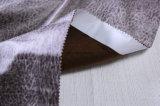 中国の製造所から成っているヒョウのスエードの家具製造販売業ファブリック