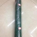 1/4 인치 PVC는 용접한 철망사/용접한 철망사 롤을 입혔다