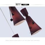 Lámpara pendiente colgante decorativa del restaurante de la decoración de interior moderna del hogar