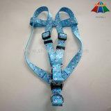 Harness de nylon impreso sublimación directa del perro del animal doméstico de la fábrica M