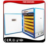 Incubadora automática pequena do melhor preço industrial para o ovo que choca a máquina