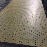 O som do auditório absorve painel acústico de madeira Grooved China