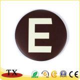 Divisa modificada para requisitos particulares del metal con Pin de la solapa de la policía (TXC119/140)