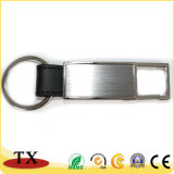 직업적인 제조자 장방형 금속 PU 가죽 열쇠 고리