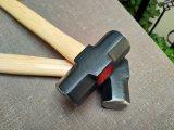 Молоток розвальней с деревянной ручкой