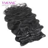 Estensione brasiliana dei capelli umani dei capelli del Virgin dell'onda non trattata del corpo