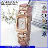 Venda a quente ODM Quartzo Aço Senhoras Fashion relógio de pulso (Wy-020D)