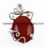 Colgante de acero de la piedra preciosa del grado quirúrgico para las mujeres