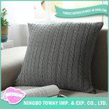Canapé personnalisé jeter de coton tricotés amovible Housse de coussin décoratif
