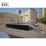 Rk bewegliches Aluminiumstadiums-bewegliches Stadium für im Freienereignis
