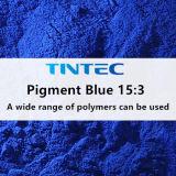 ポリマーの広い範囲のための有機性青い顔料の15:3