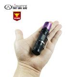 Alta qualidade, lanterna elétrica UV profissional do diodo emissor de luz 365nm, o projector do balanço, cor pura e não projector