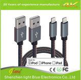 Mfi certificó el cable de carga de los datos del USB para el iPhone